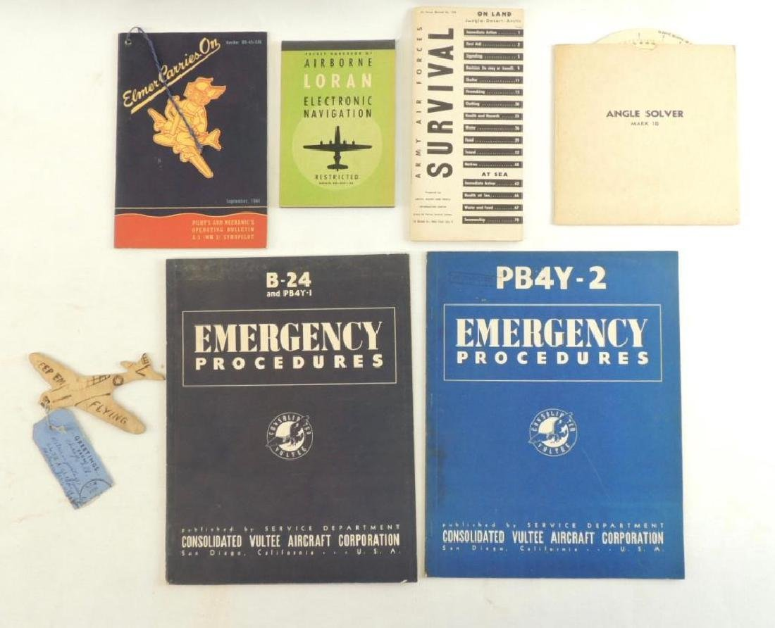 Group of WW2 Era U.S. Army Air Force Books and Others