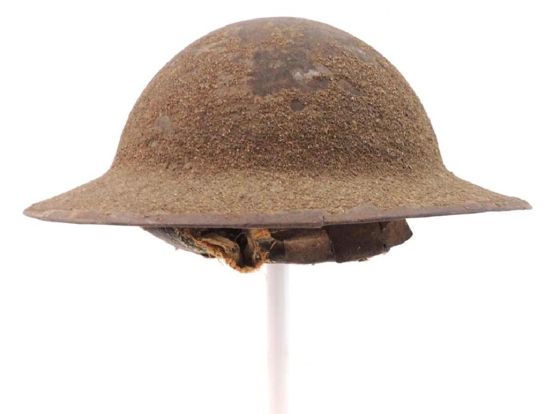 WW1 U.S. Army 78th Division Doughboy Helmet with Hand