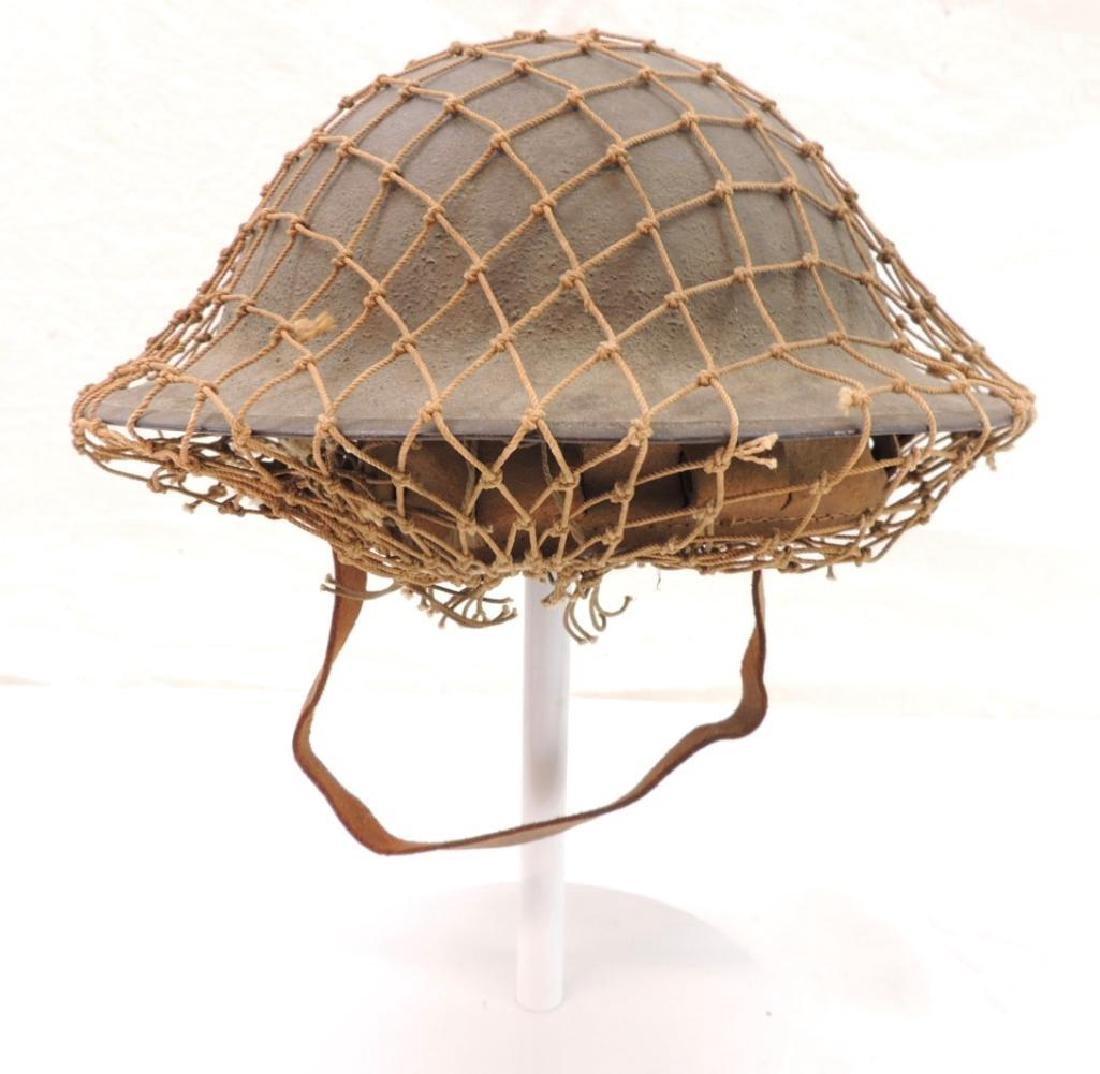 WW1 U.S. Army Doughboy Helmet with Netting