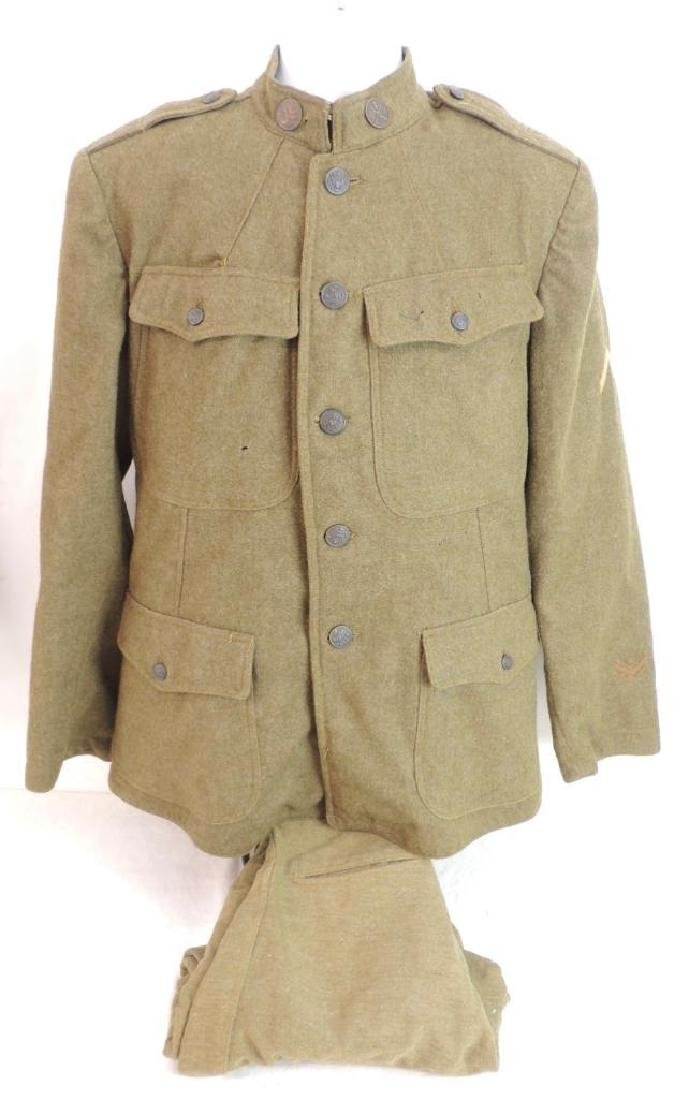 WW1 U.S. Army 32nd Division Signal Corps Uniform with