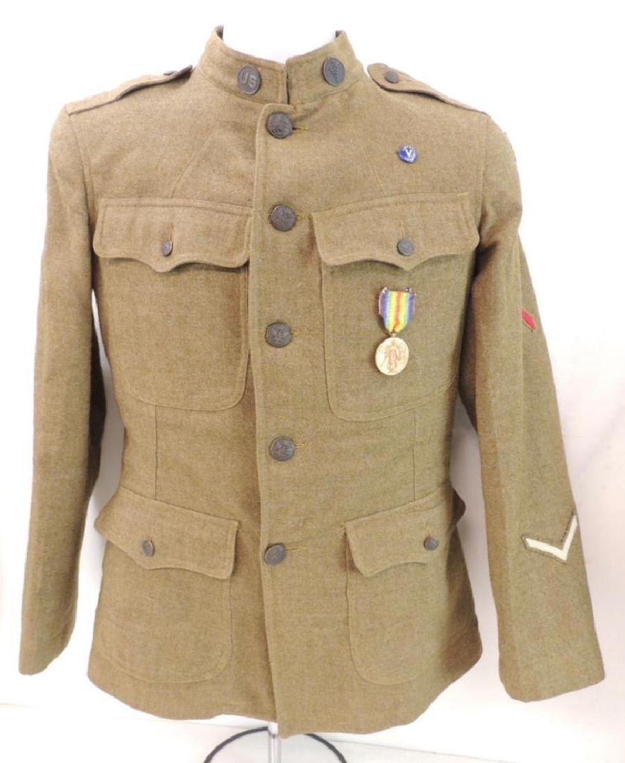 WW1 U.S. 3rd Army Medical Dept. Corporals Tunic with