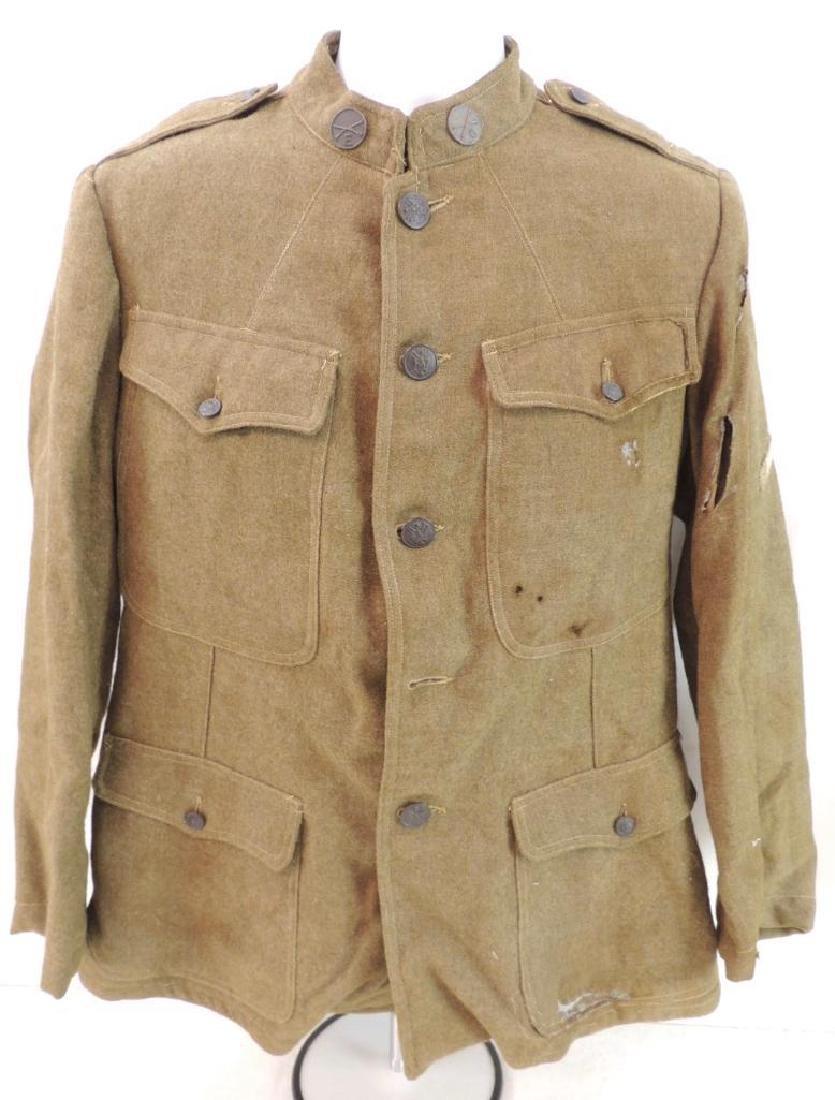 WW1 U.S. Army Infantry/Artillery Tunic with Patch