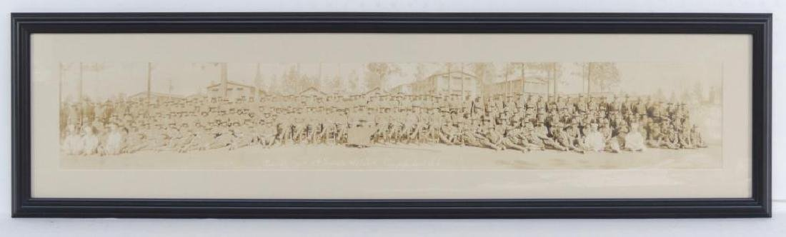 WW1 Part of Battery F 13th Regiment FARD Framed