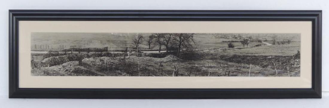 WW1 Battlefield and Destroyed Village Seicheprey,