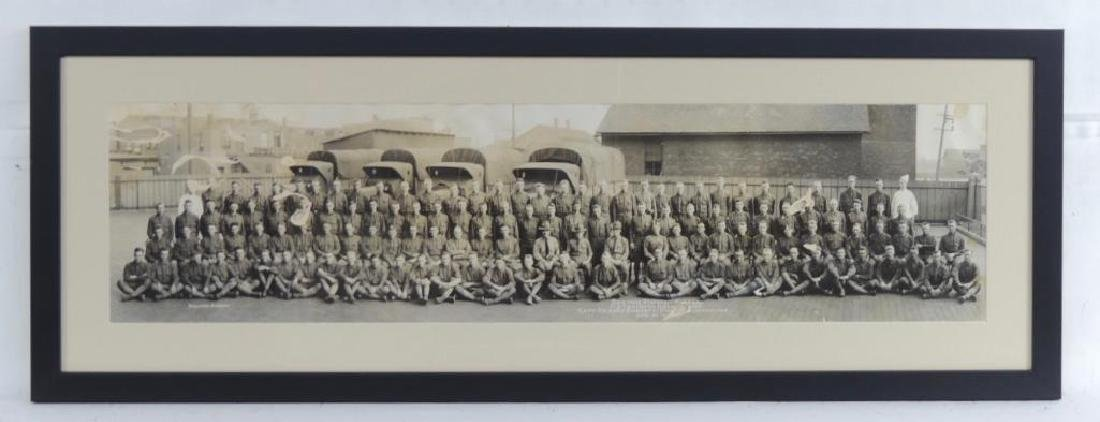 WW1 Group of 3 US Army Framed Photographs