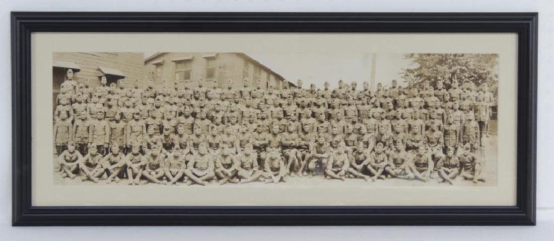 WW1 Co K 55th Infantry Framed Photograph