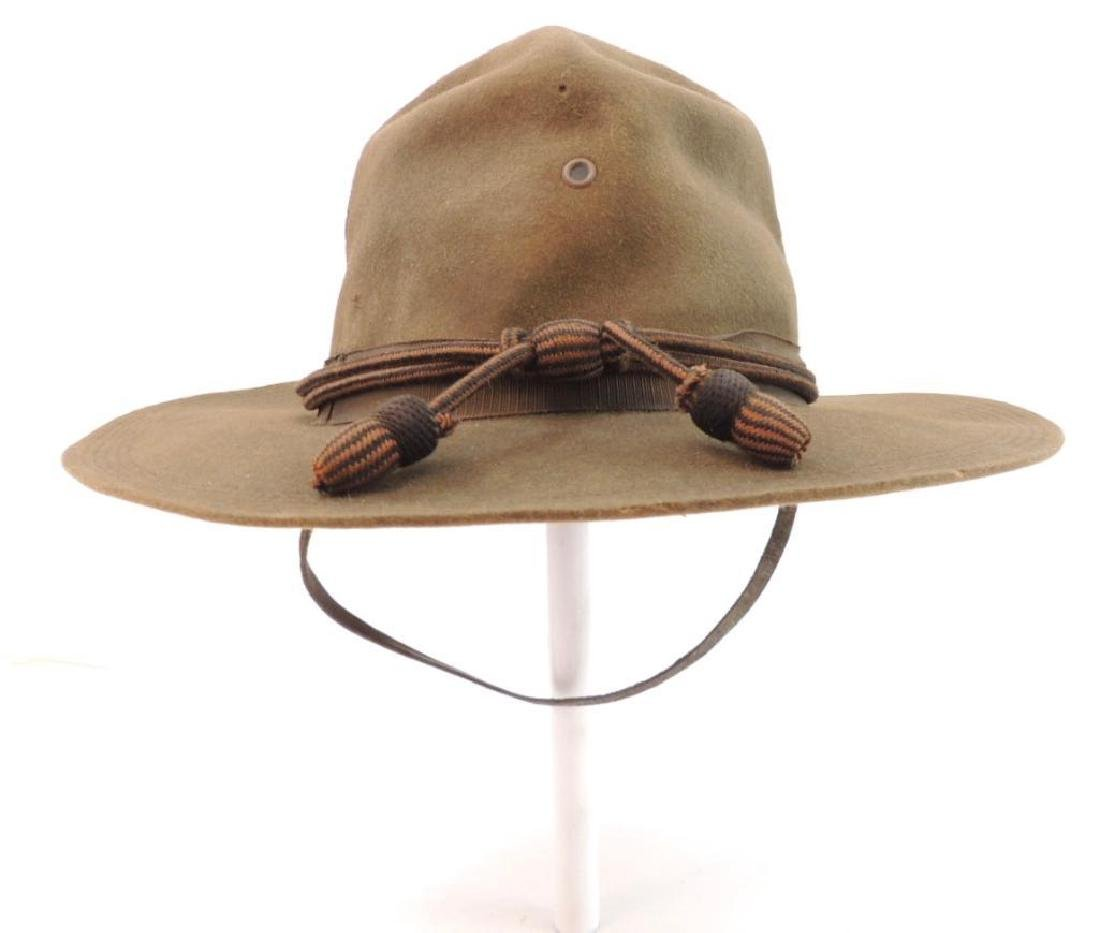 WW1 U.S. Army Campaign Hat with Hat Cord
