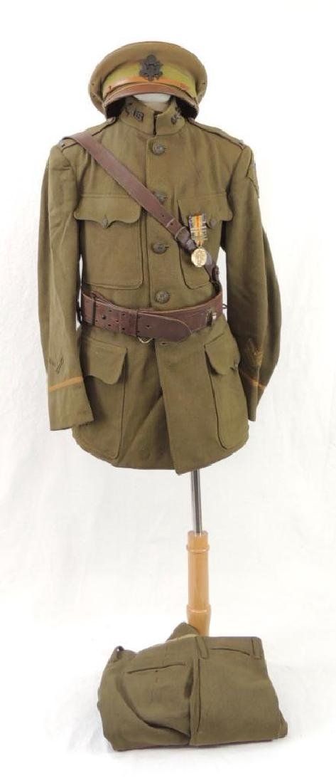 WW1 U.S. Army 26th Division Infantry Officers Uniform