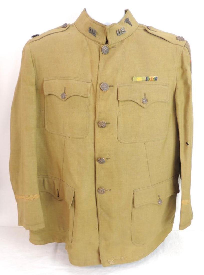 WW1 U.S. Army Medical Dept. 1st Division Tunic with