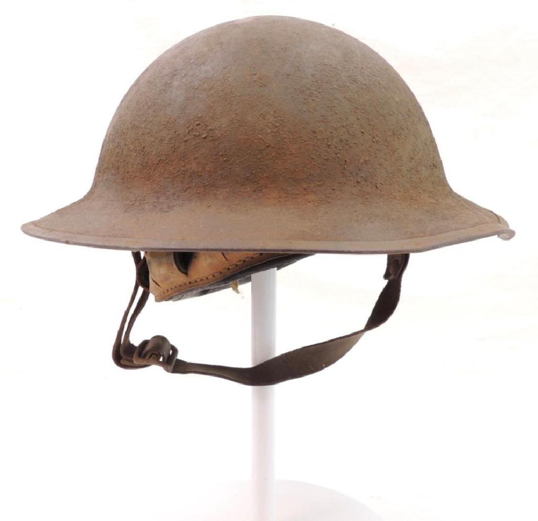 WW1 U.S. Army 89th Division Doughboy Helmet with Double