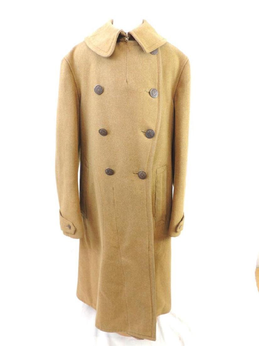 WW1 U.S. Army Named Overcoat