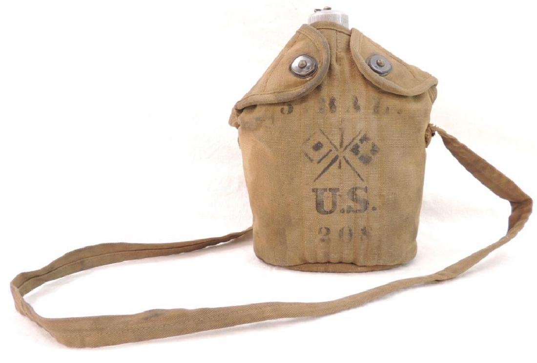 WW1 U.S. Army Canteen with 5th Balloon Signal Corps