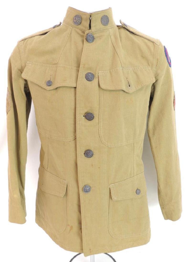 WW1 U.S. 3rd Army Signal Corps Corporals Tunic with