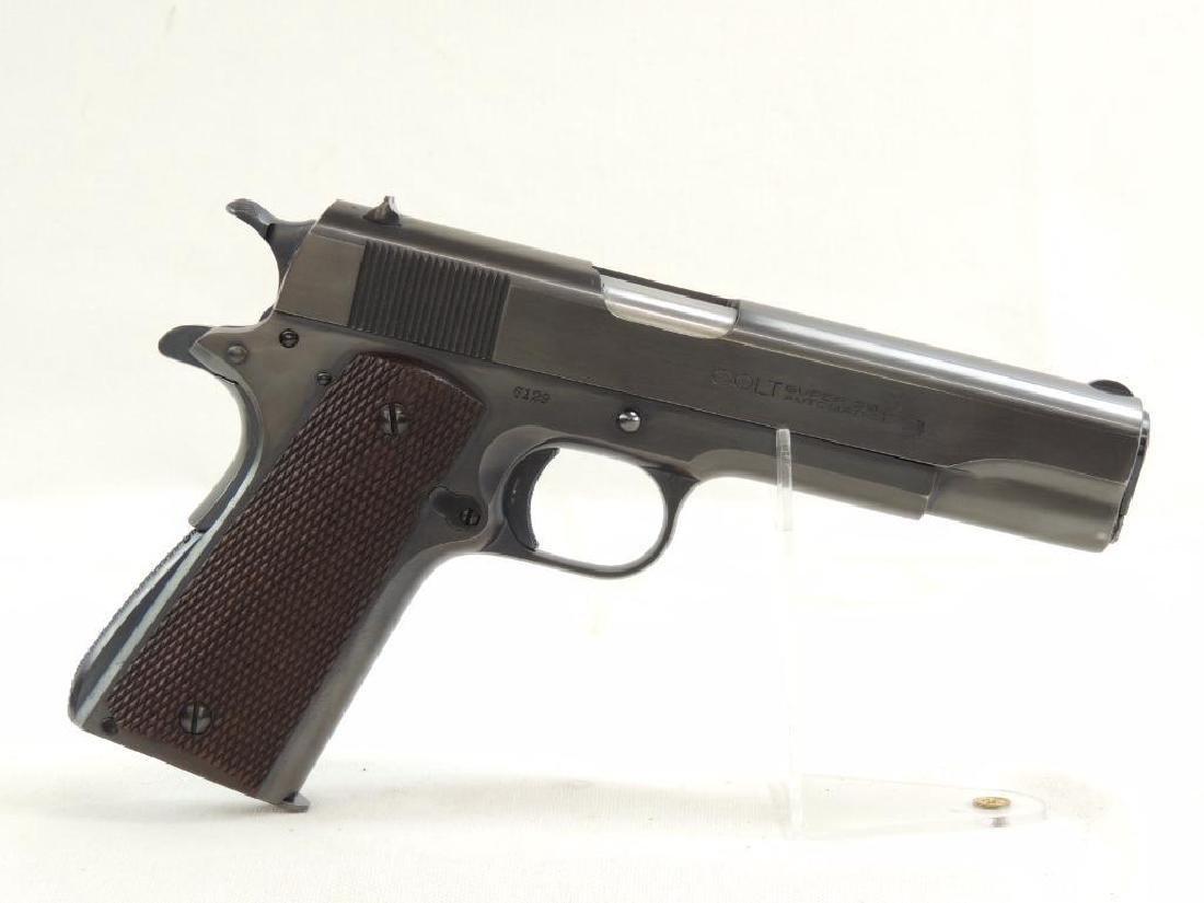 1930 Colt Super 38 .38 Cal. Semi-Auto Pistol with