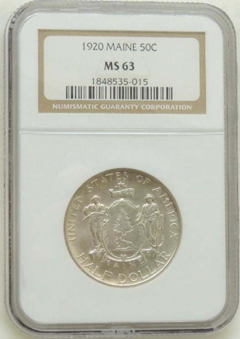 1920 Maine Commemorative Half Dollar MS63