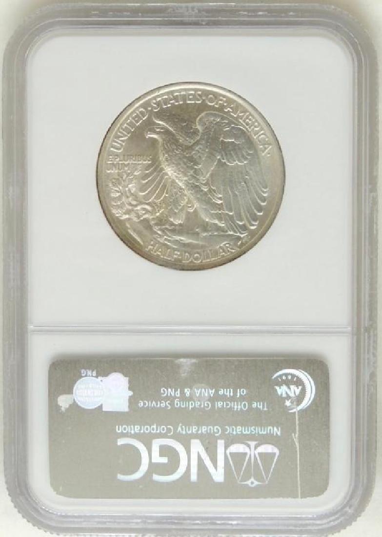 1936 Walking Liberty Half Dollar MS62 - 2
