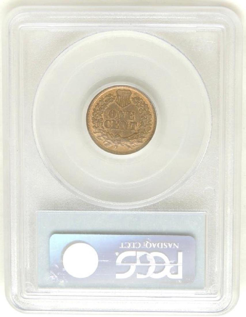 1864 Indian Head Cent MS64 RB - 2