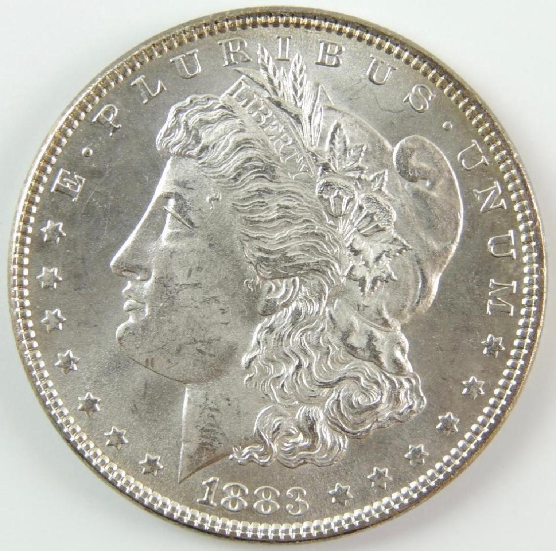 1883-P Morgan Silver Dollar