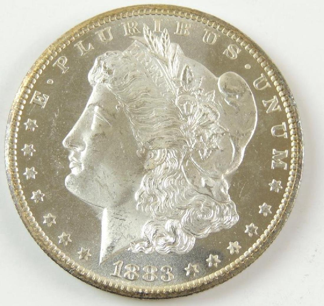 1883-CC Morgan Silver Dollar - 4