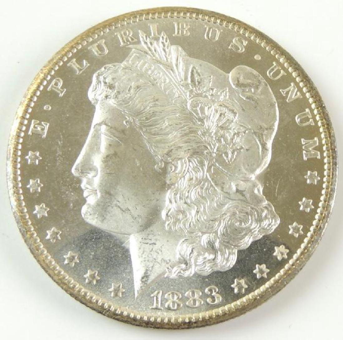 1883-CC Morgan Silver Dollar - 5
