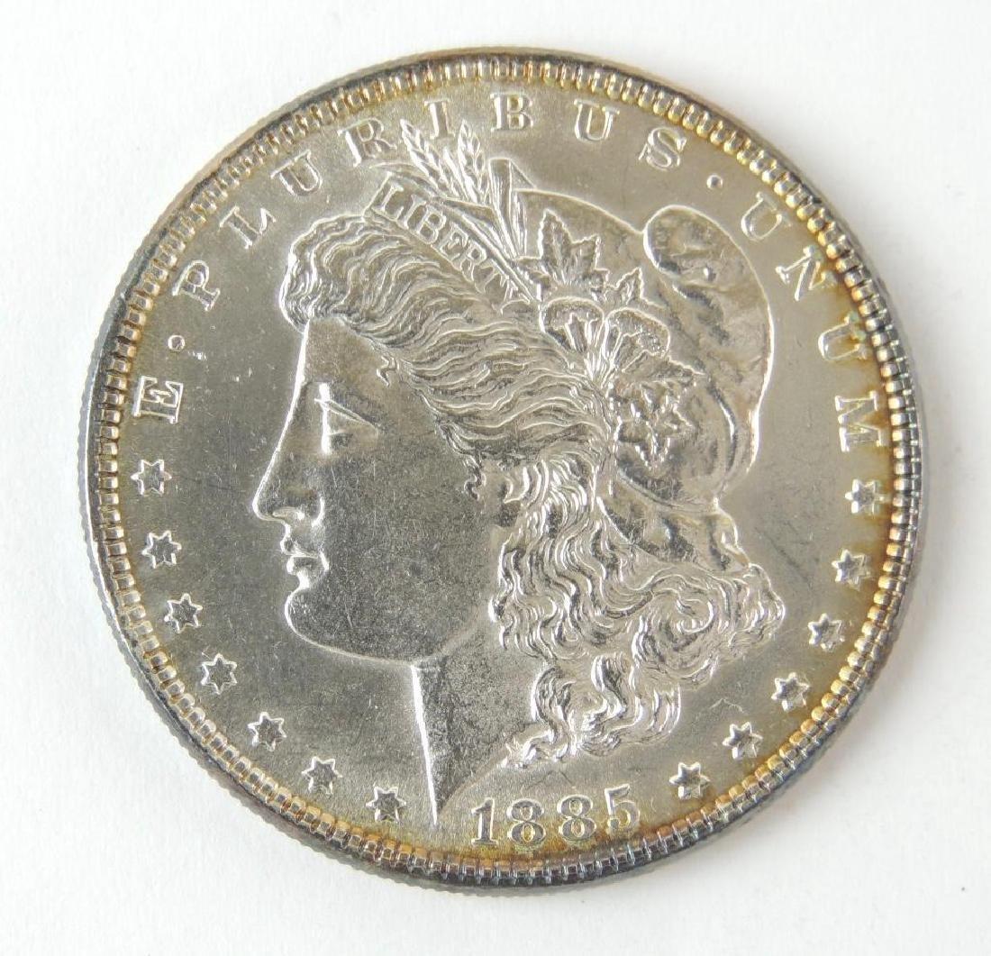 1885-P Morgan Silver Dollar