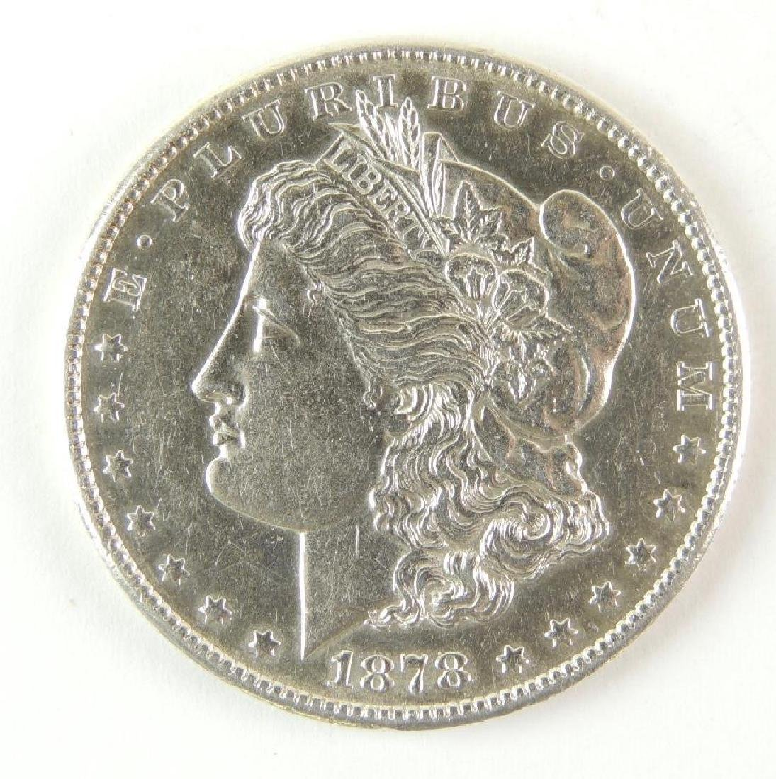 1878-S Morgan Silver Dollar