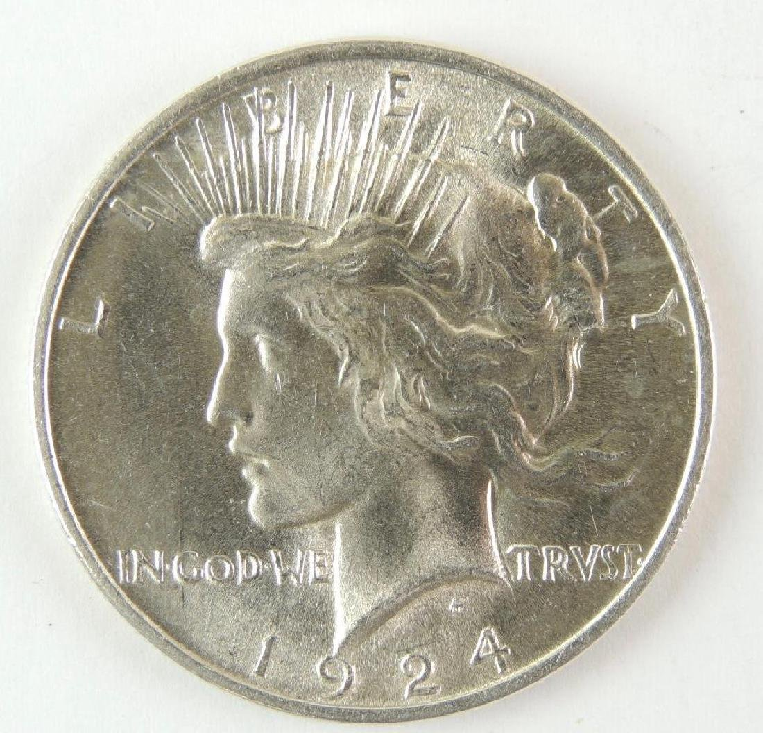 1924-P Peace Dollar