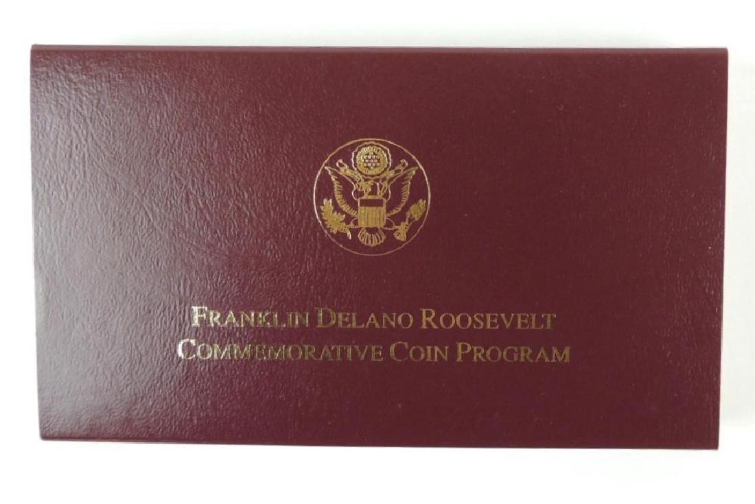 1997-W FDR Memorial Commemorative Proof Gold Five - 4