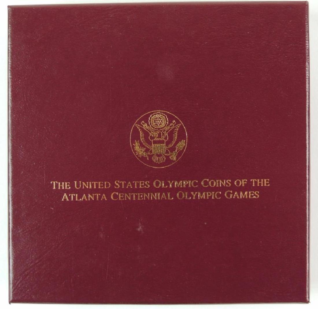 1995 Atlanta Centennial Olympics Commemorative 4-coin