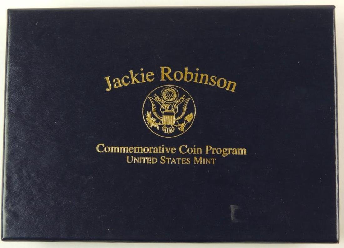 1997-W Jackie Robinson Commemorative Proof Coin Set