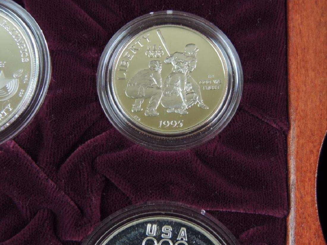 1995-1996 U.S. Olympic Coins of the Atlanta Centennial - 10