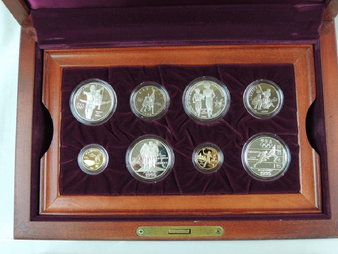 1995-1996 U.S. Olympic Coins of the Atlanta Centennial - 5
