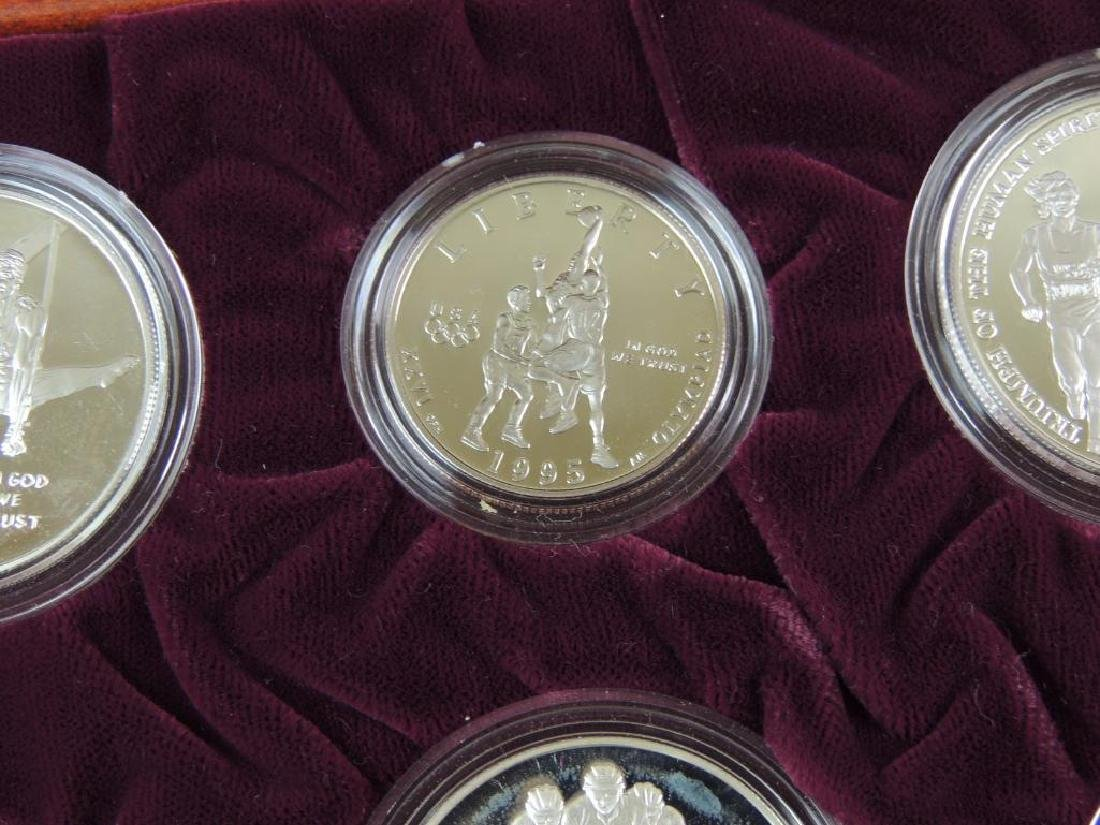 1995-1996 U.S. Olympic Coins of the Atlanta Centennial - 7