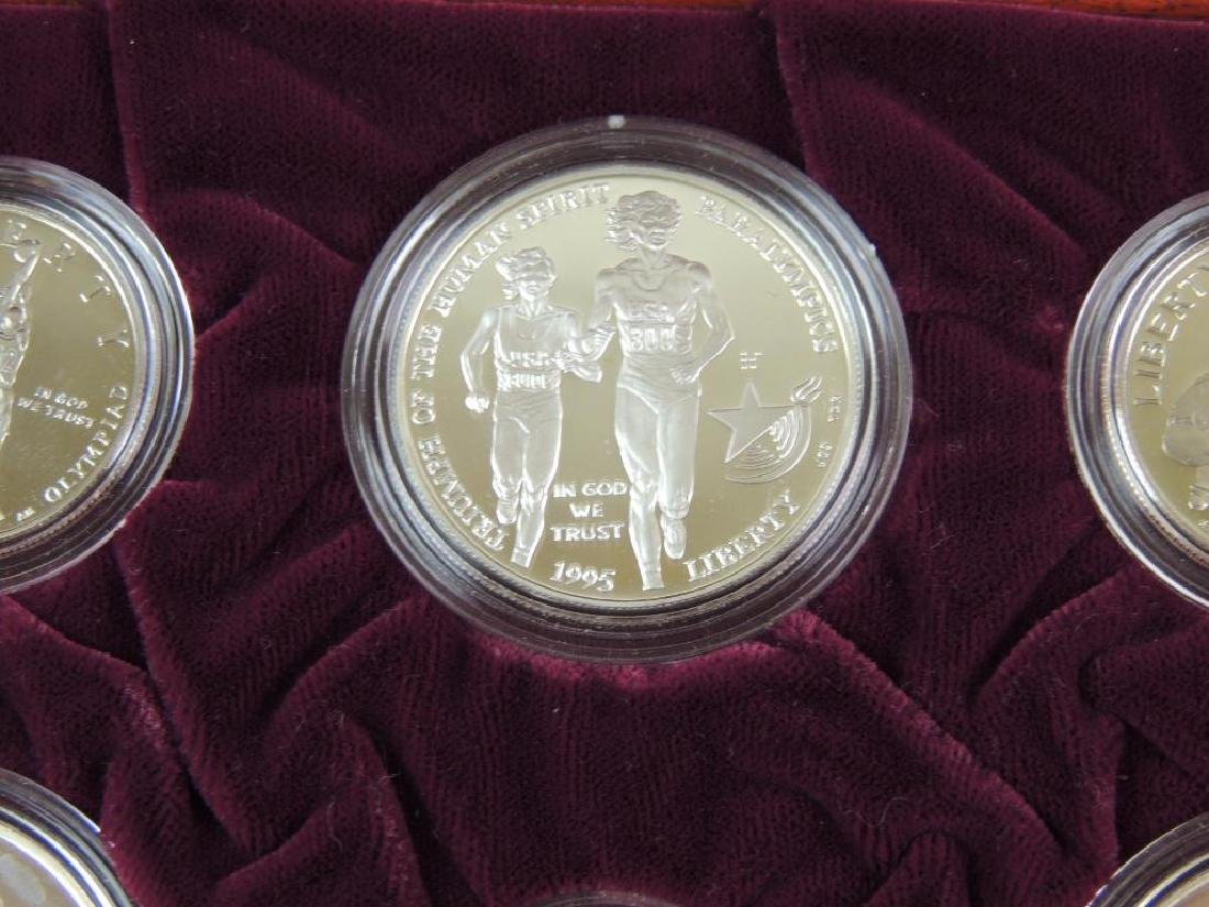 1995-1996 U.S. Olympic Coins of the Atlanta Centennial - 8