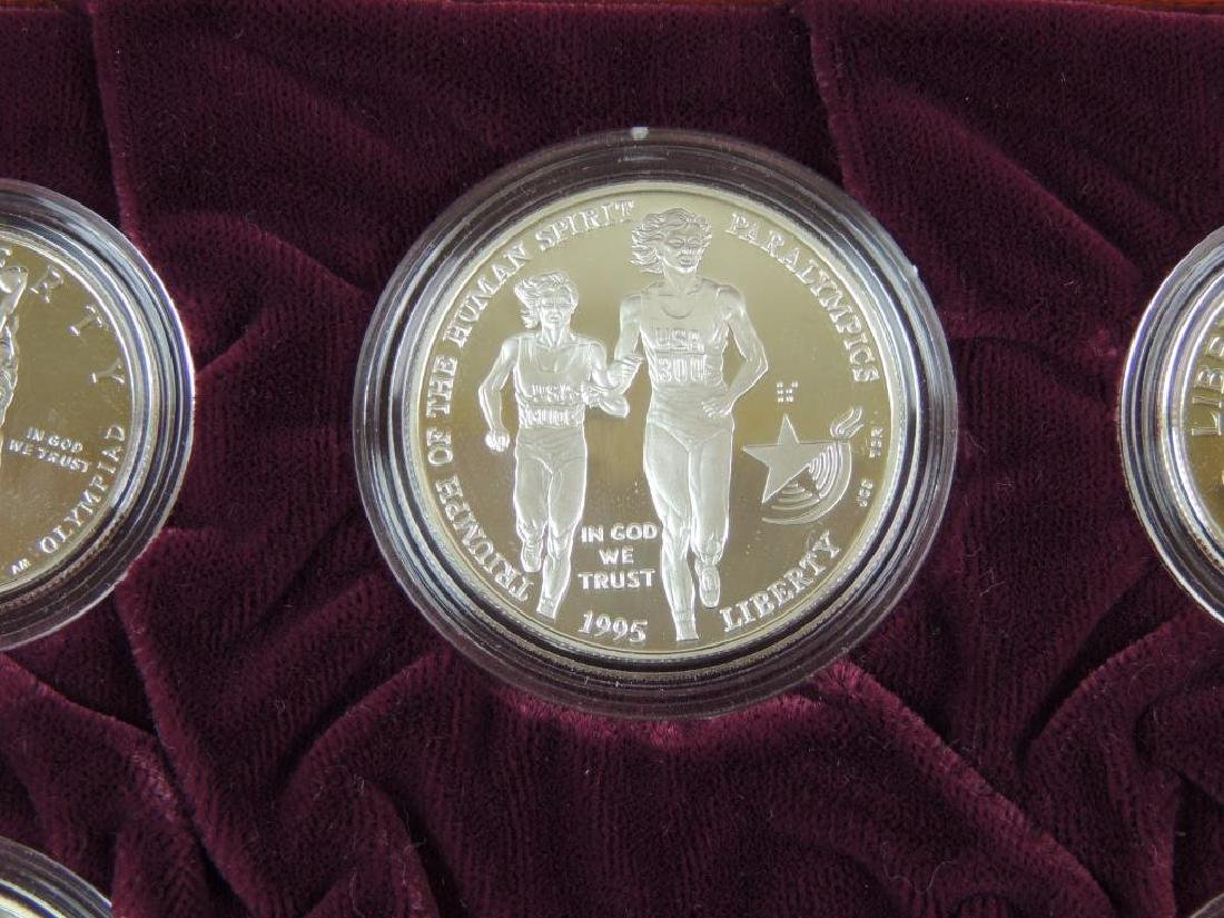 1995-1996 U.S. Olympic Coins of the Atlanta Centennial - 9