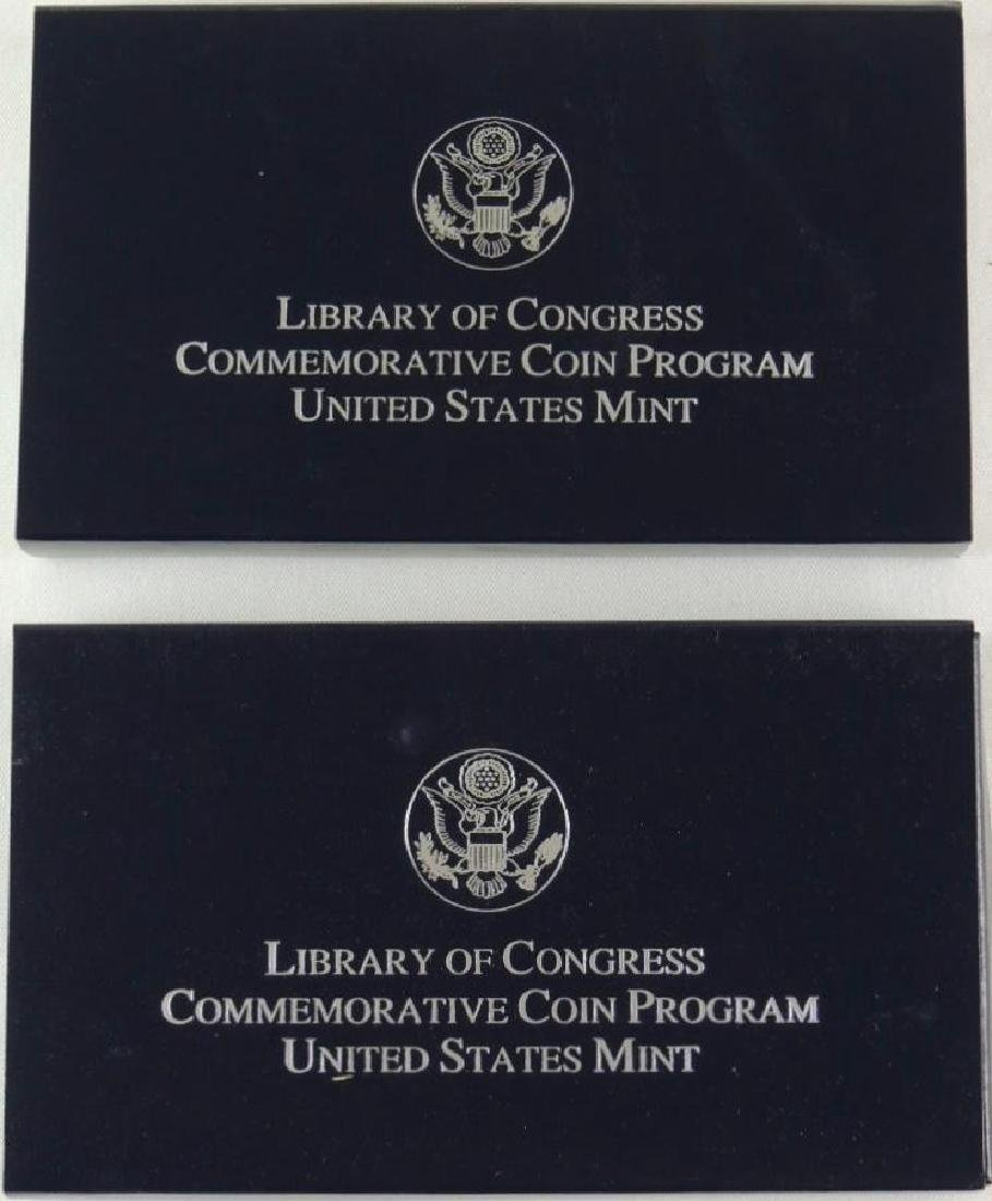Set of 2 - 2000-P Library of Congress Uncirculated