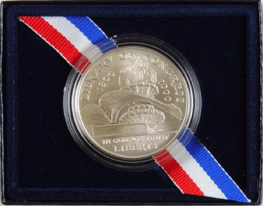 Set of 2 - 2000-P Library of Congress Uncirculated - 3