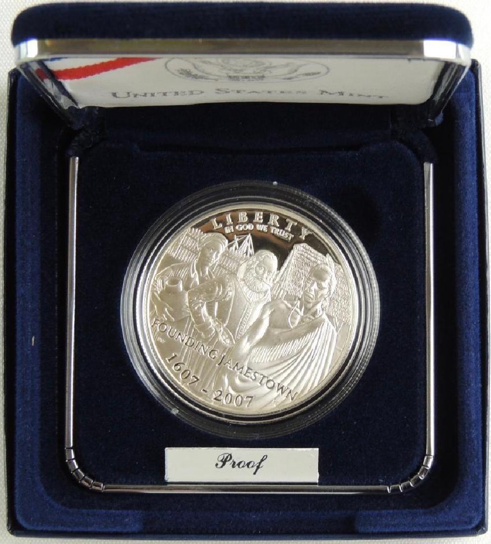Set of 2 - 2009-P 400th Anniversary of Jamestown - 3