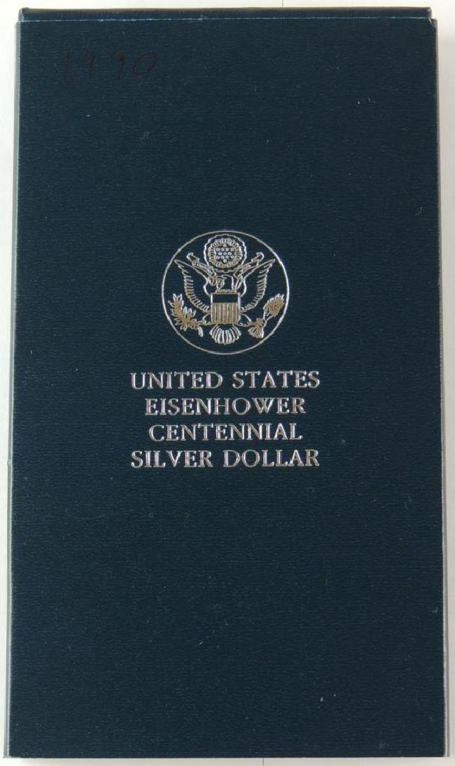 1990-W United States Eisenhower Centennial Uncirculated