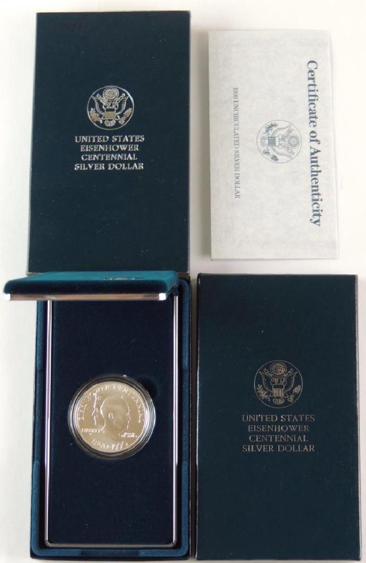 1990-W United States Eisenhower Centennial Uncirculated - 2