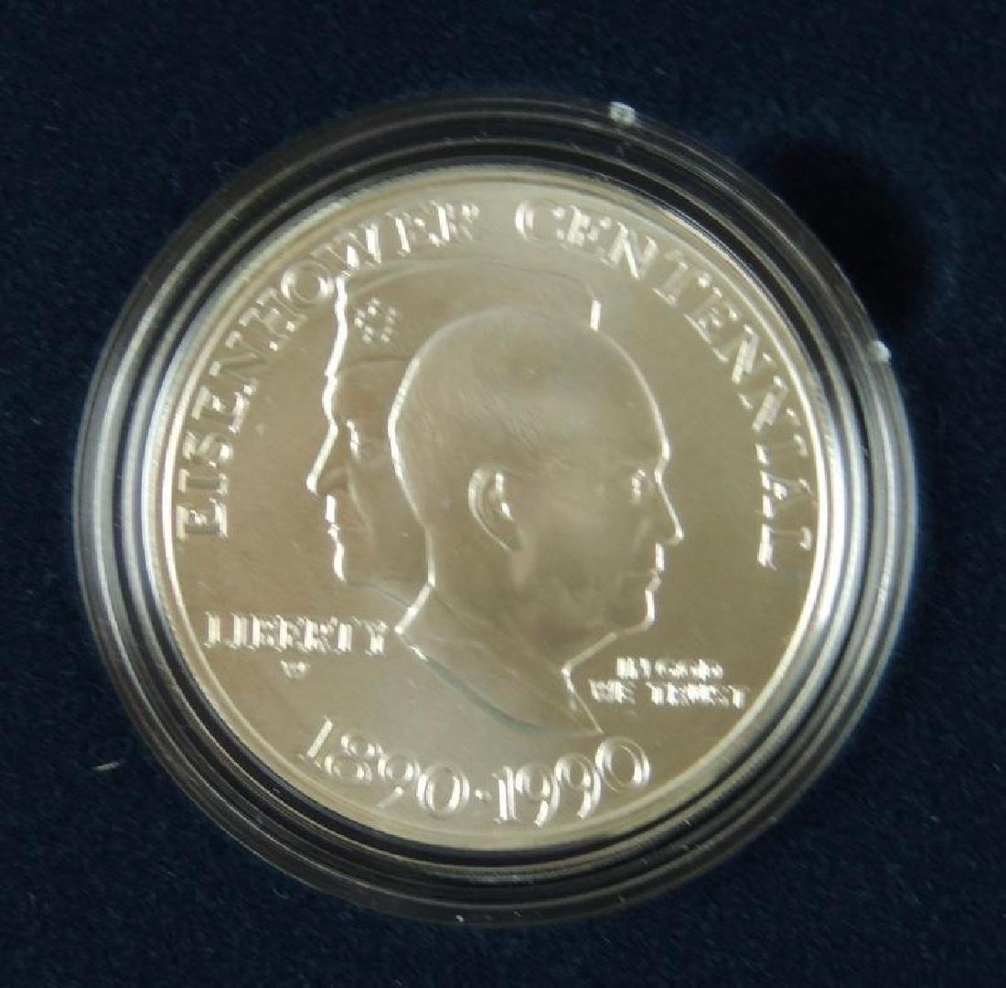 1990-W United States Eisenhower Centennial Uncirculated - 3