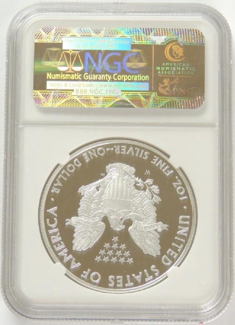 2010-W Silver Eagle PF70 Ultra Cameo (Early Release) - 2