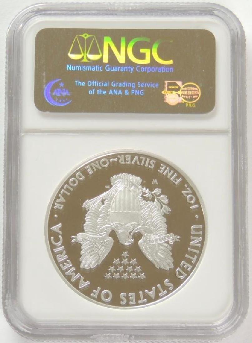 2008-W Silver Eagle PF70 Ultra Cameo - 2
