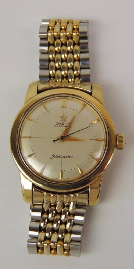 14K Yellow Gold Omega Seamaster Automatic Chronometer