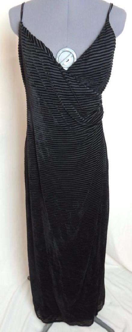 Giorgio Armani Black Evening Dress