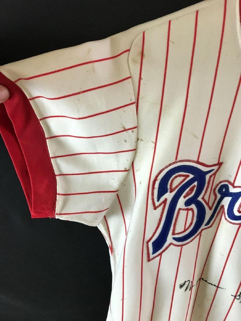 1978 Signed Atlanta Braves Warren Spahn jersey - 2