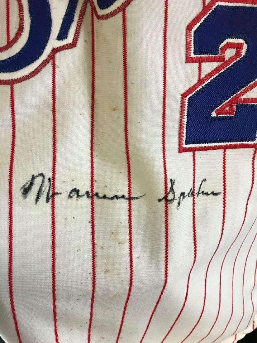 1978 Signed Atlanta Braves Warren Spahn jersey - 3