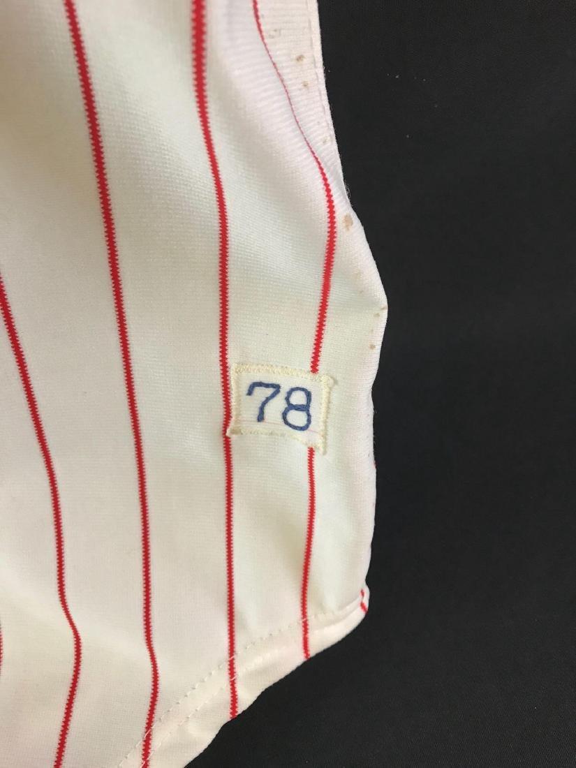 1978 Signed Atlanta Braves Warren Spahn jersey - 4