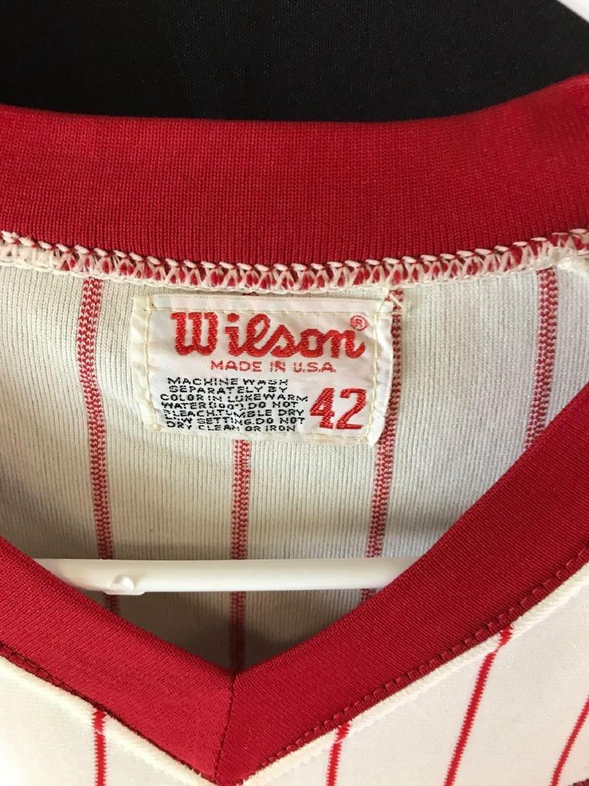 1978 Signed Atlanta Braves Warren Spahn jersey - 5
