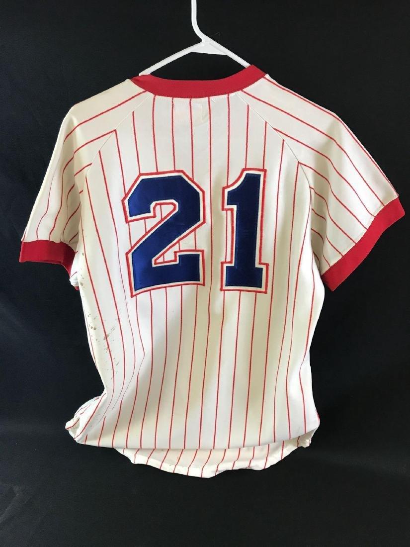 1978 Signed Atlanta Braves Warren Spahn jersey - 6